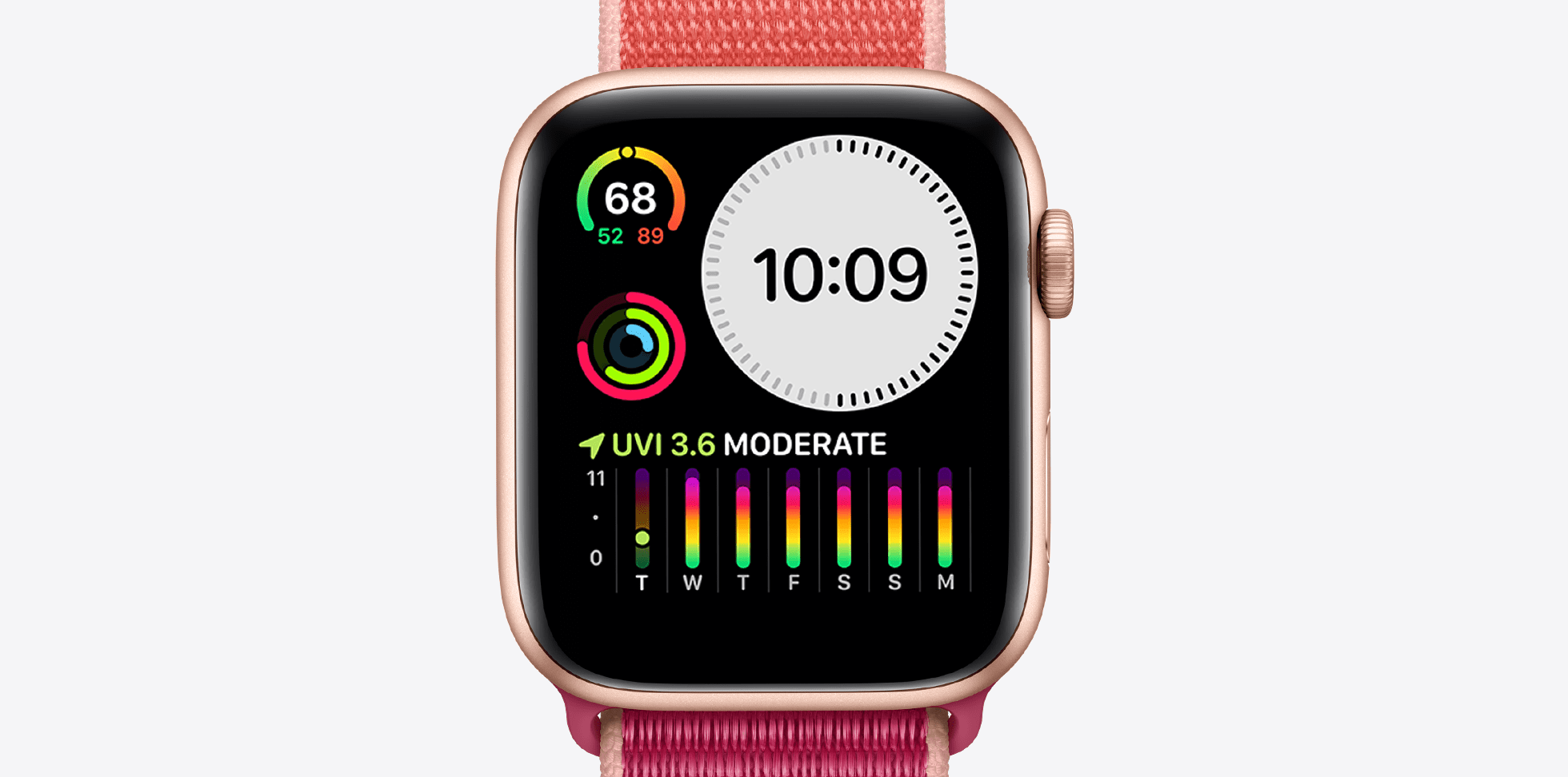 apple watch series 5 weather