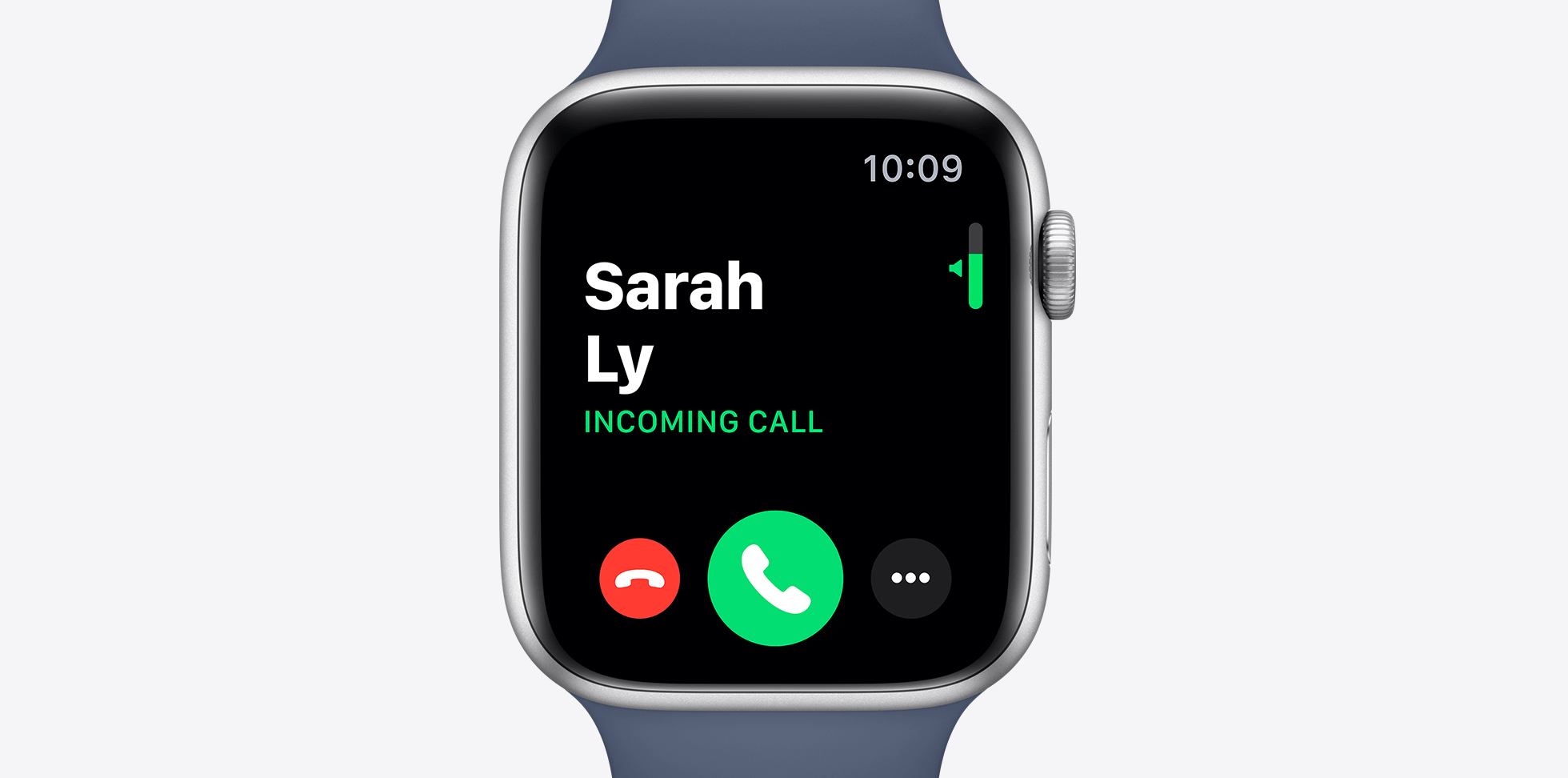 apple watch s5 incoming call