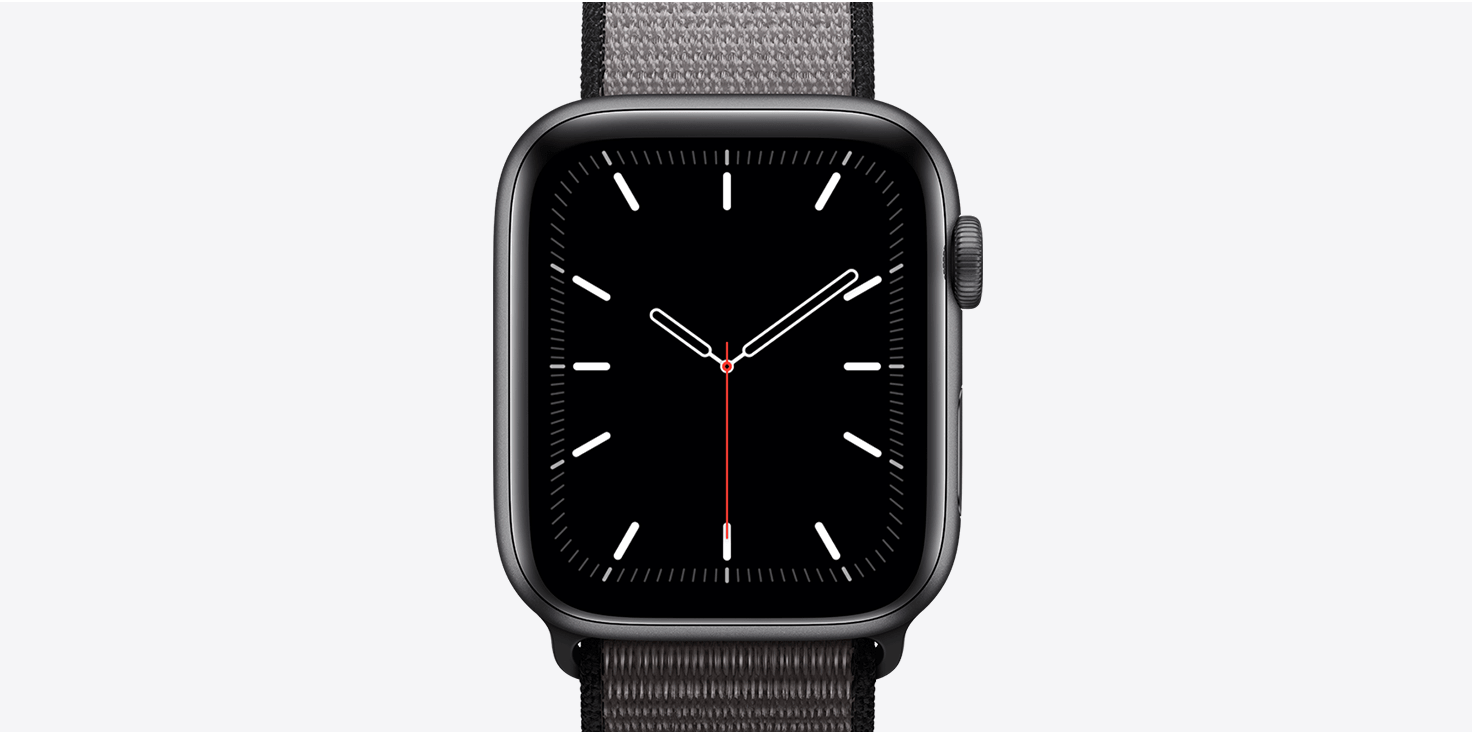 apple watch series 5 classic face