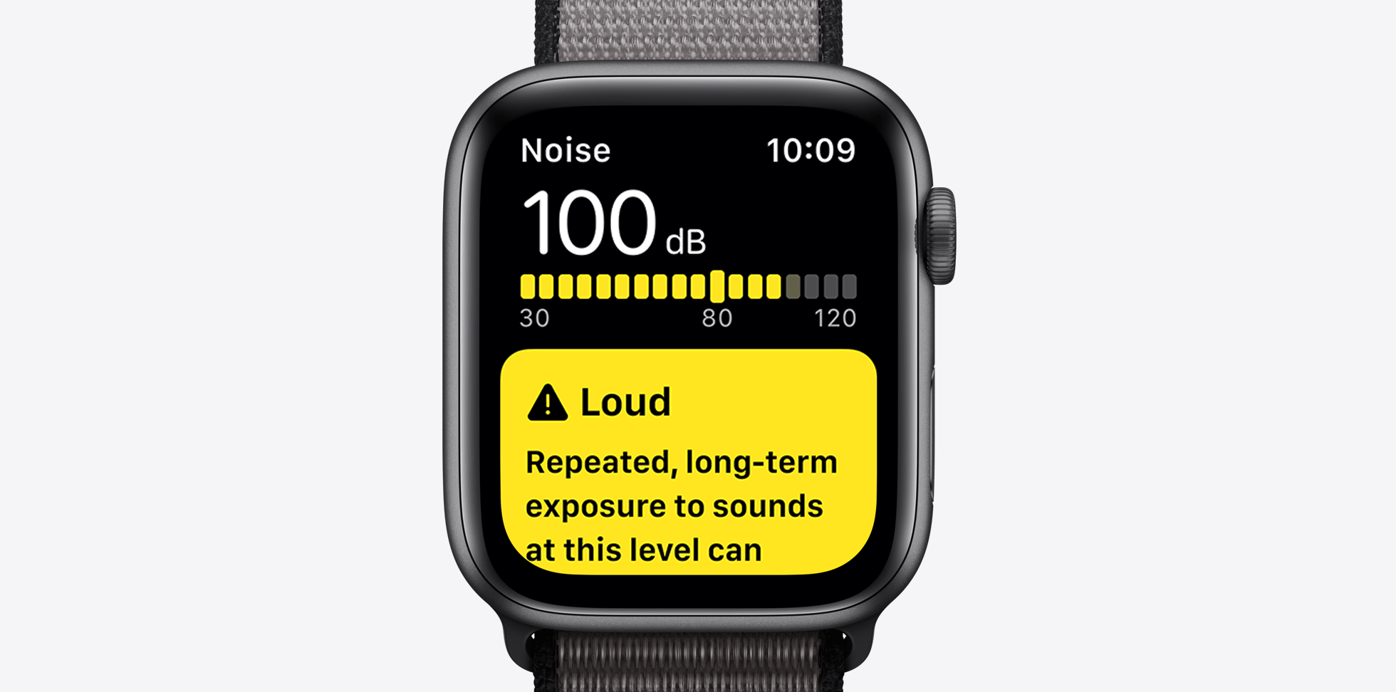 apple watch S5 noise reduction