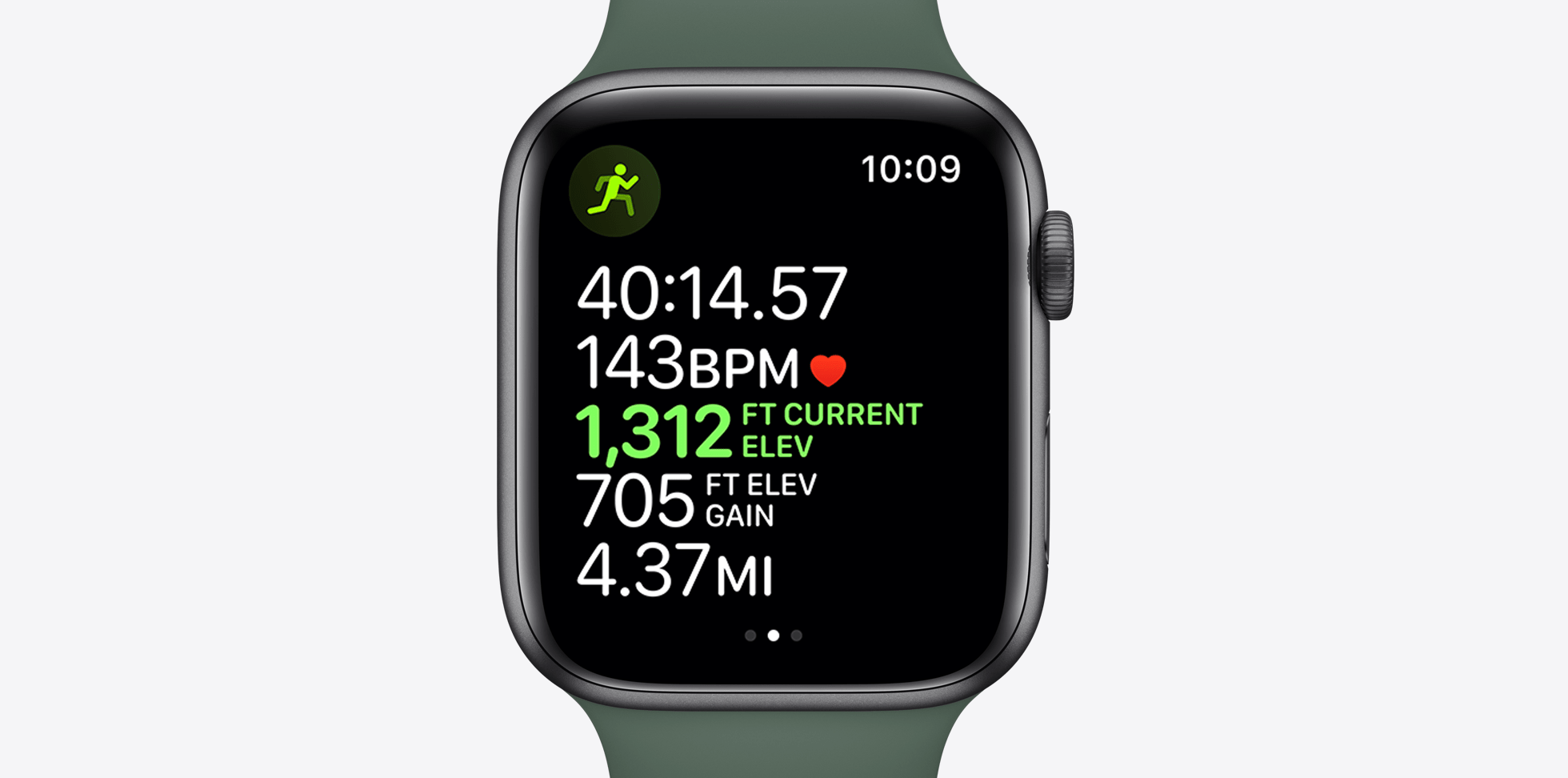 apple watch series 5 running tracker