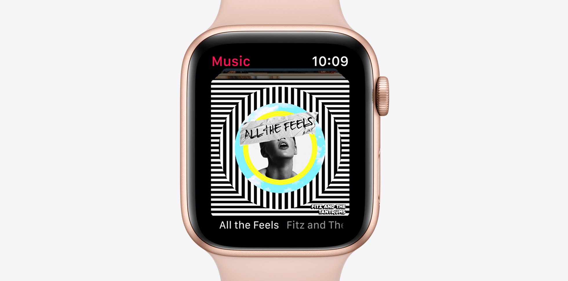 apple watch s5 music