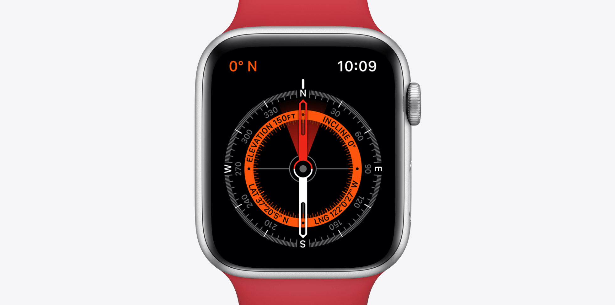 apple watch s5 compass