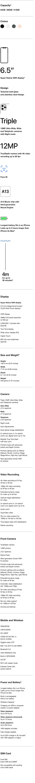 apple iphone comparisons