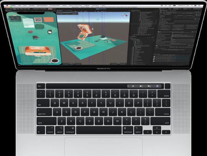 apple macbook pro 16 inch keyboard design