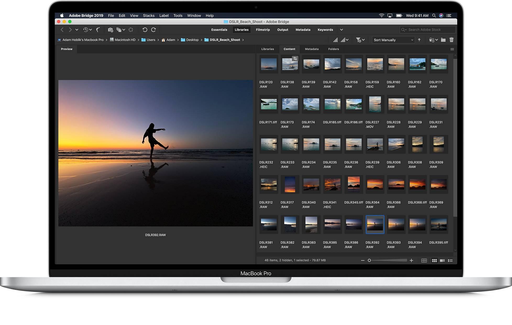 apple macbook pro screen display